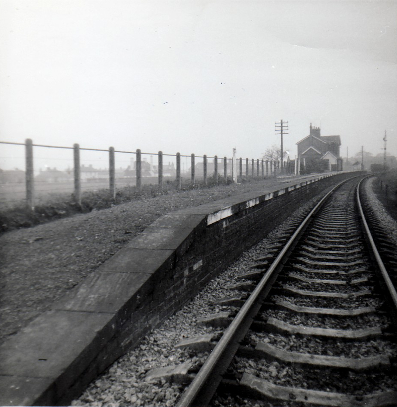 Abbey Town Station October 1964