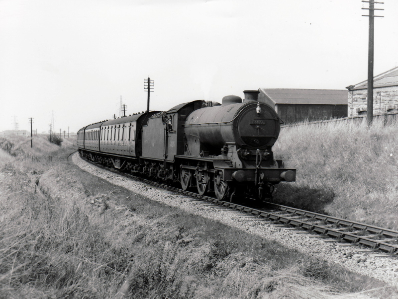 Approaching Canal Junction 1955