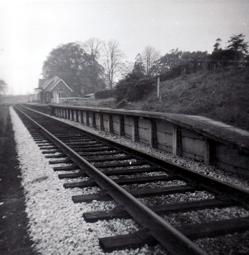 Burgh By Sands Station October 1964