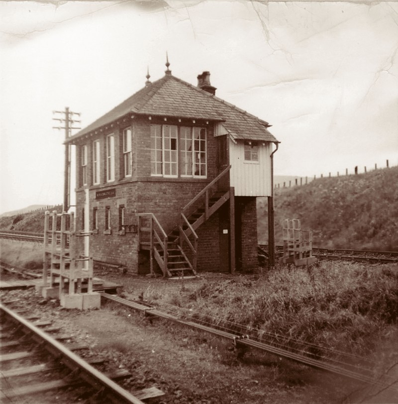 Kirkbride Junction Signal Box 1921