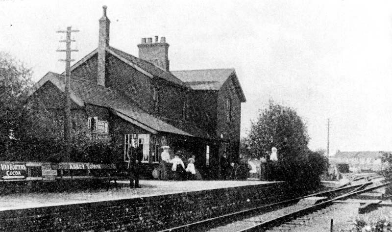 Abbeytown Railway Station 1900
