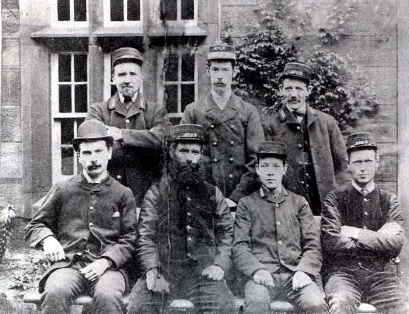 Cumbria Railways - Bulgill Station Staff 1890's