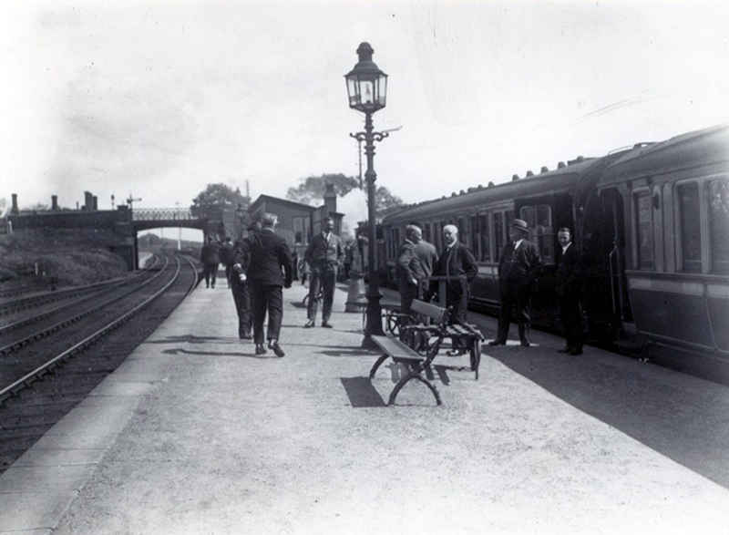 Cumbria Railways - Bullgill Station Directors Special 1924