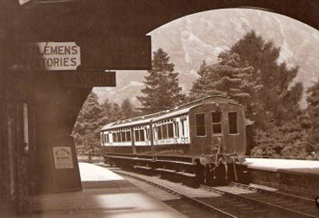 Cumbria Railways - Coniston Station early 1900's