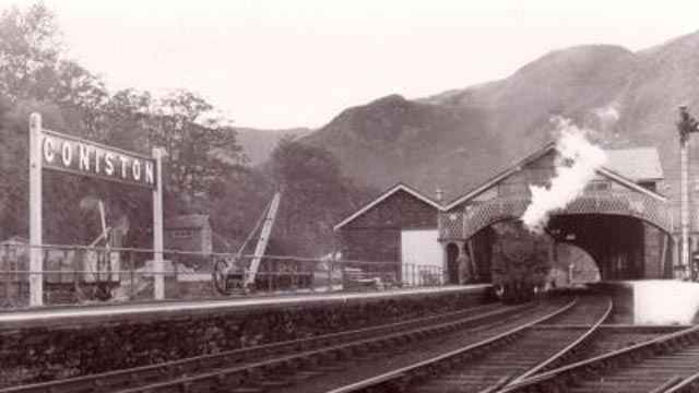 Cumbria Railways - Coniston Station