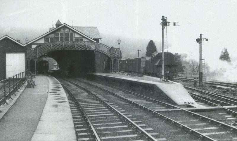 Cumbria Railways - Coniston Station early 1957