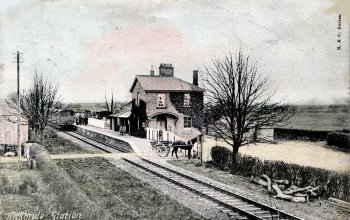 Cumbria Railways Kirkbride Station
