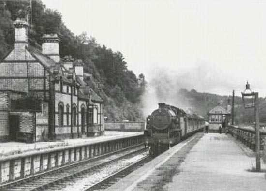 Cumbria Railways - Greenod 1962
