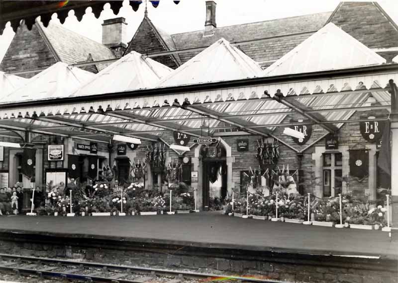 Cumbria Railways - Queens Visit to Keswick 1956