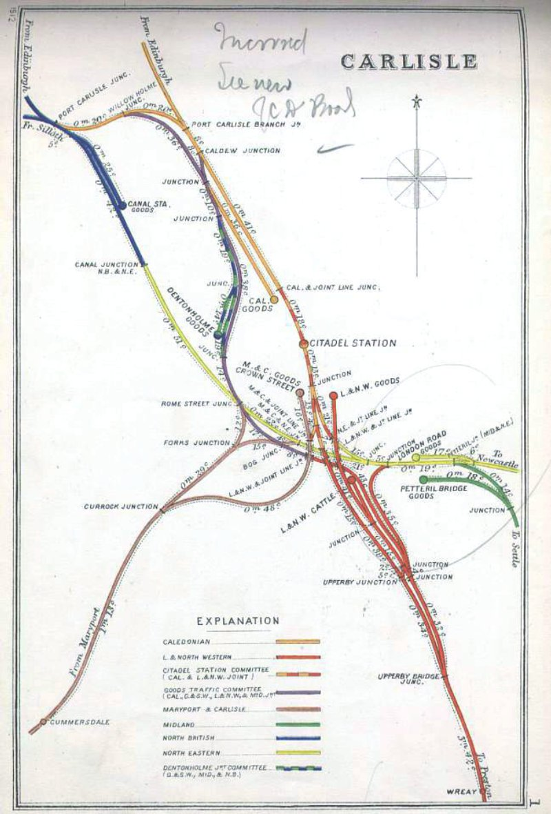Railway Clearing House Map