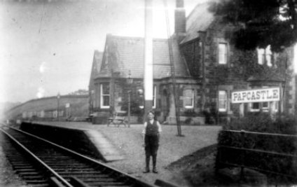 Papcastle Station early 1900's