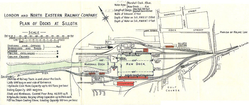Silloth Docks Plan