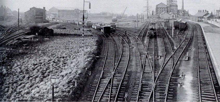 Silloth Railway Station Dock Sidings