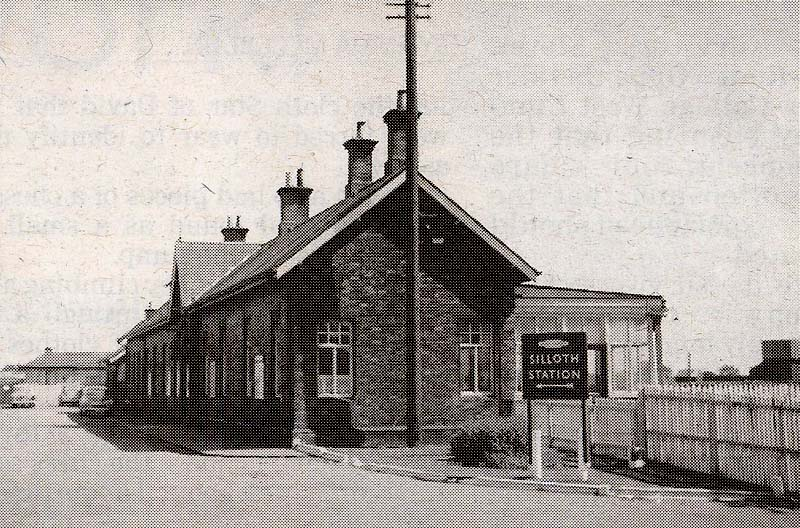 Silloth Railway Station 1964