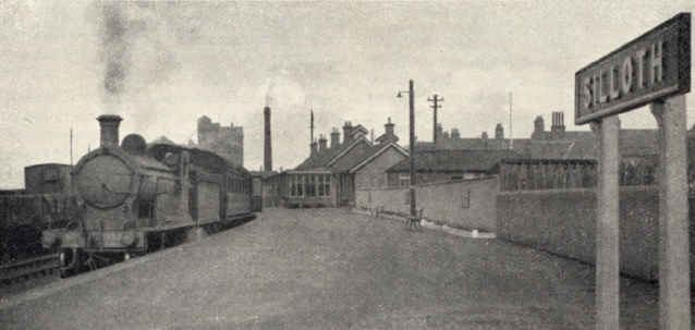 Silloth Railway Station 1948