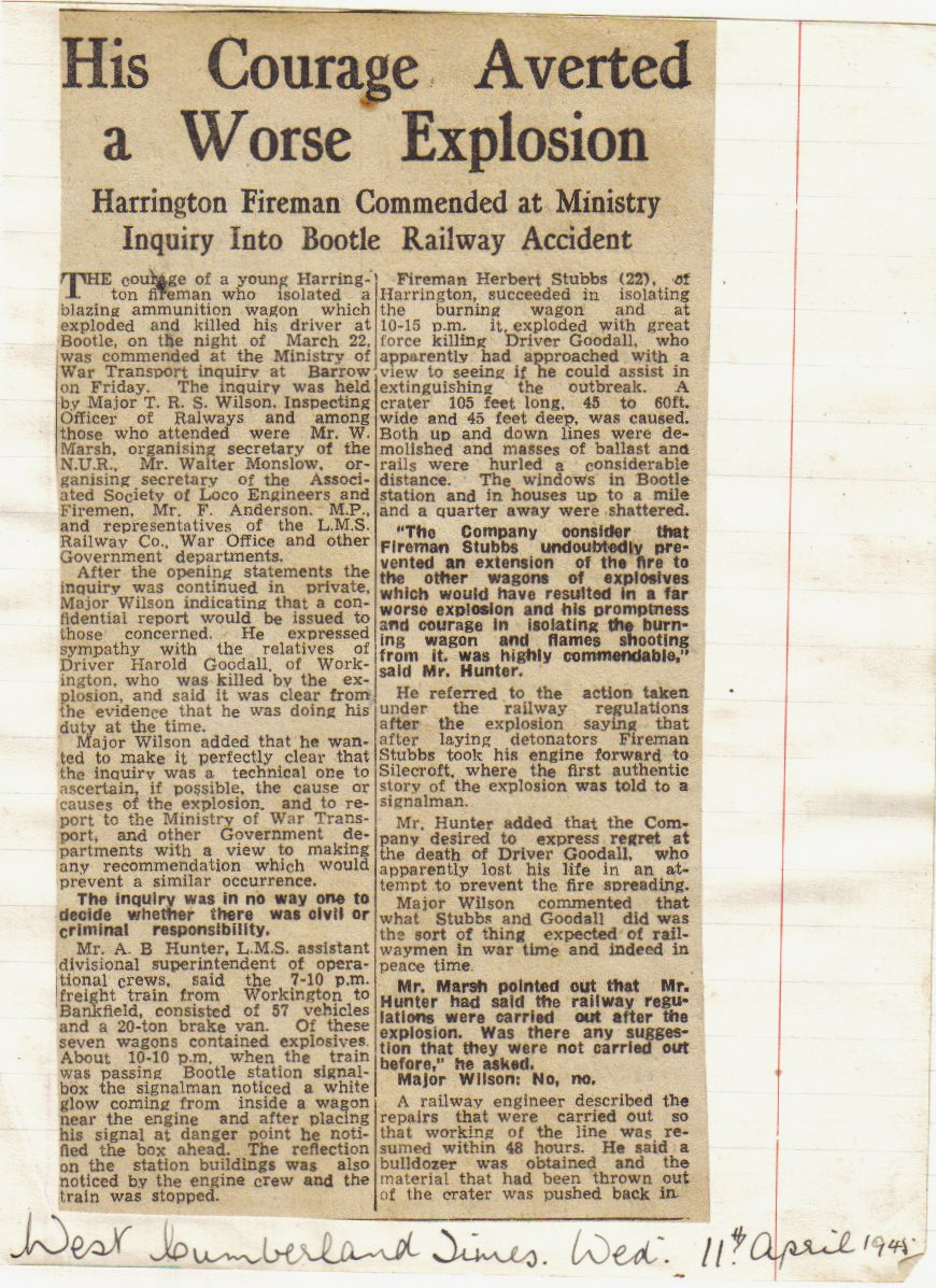 West Cumberland Times April 1945