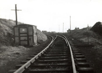Token Hut Rosehill Junction 1964 - Lowca Light Railway