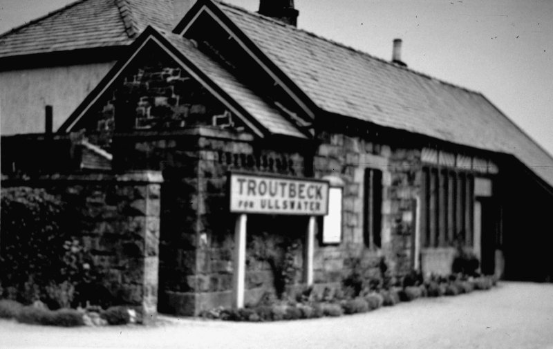 Troutbeck Station 1950