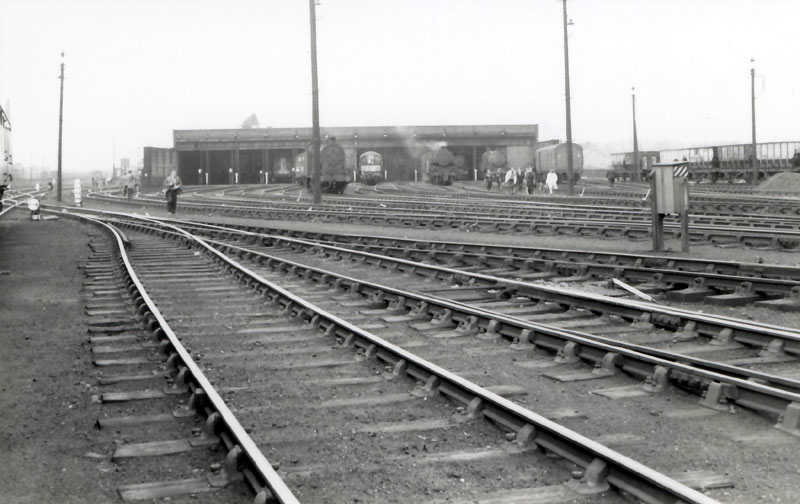 Cumbria Railways - Workington Shed 1965